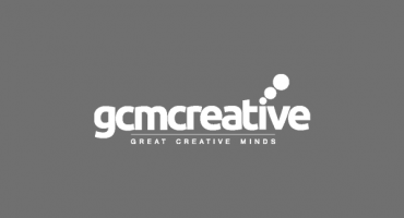 Red Media: Red Acquires GCM Creative blog post cover, with a red and purple gradient background and Red Media logo, and a faded GCM Creative logo