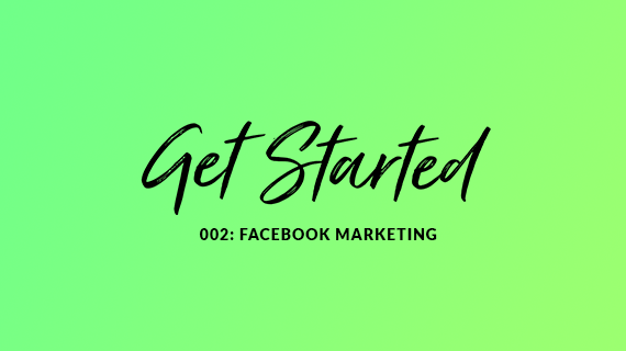 Get started with Facebook Marketing blog cover image. Red Media Glasgow Blog